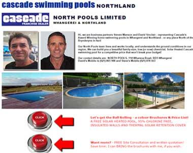 Cascade Pools Northland
