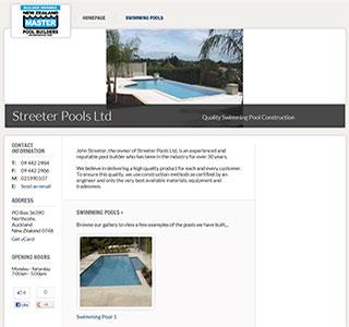 Streeter Pools